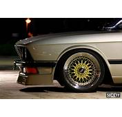 BMW 528i E28 On 17″ Gold BBS RS  Zone