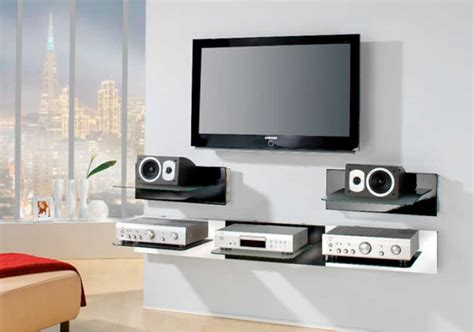 tablette murale pour tv meuble tv murale tablette solutions pour la d 233 coration int 233 rieure de votre maison