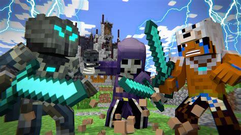 Minecraft Animation Wallpaper - mega walls deathmatch part 2 the war is not lost