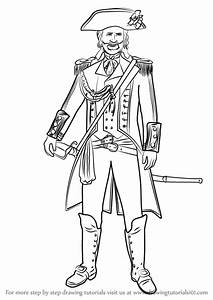 Learn How To Draw Captain James Cook From Assassinu002639s Creed