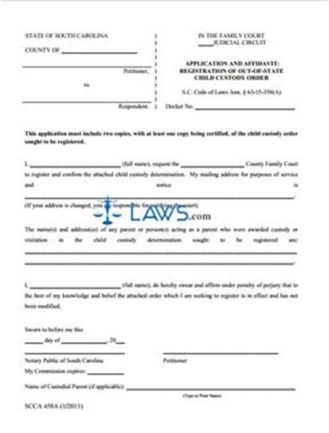 free ohio name change forms form scca458a application and affidavit registration of