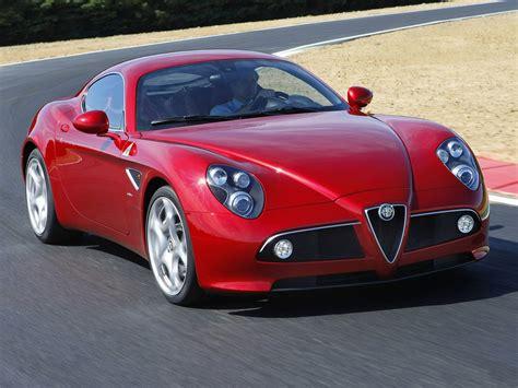 automotive database alfa romeo 8c competizione