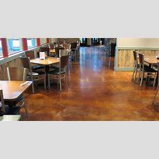 Restaurant Floors  Enhancing Concrete Floors In