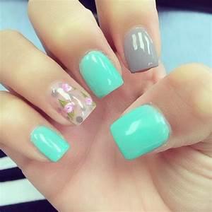 Pretty pastel nail designs