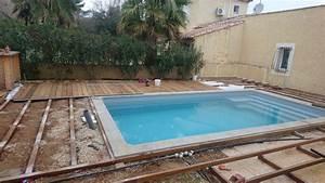 tour de piscine en bois itauba a la ciotat sur lambourdes With tour de piscine en bois