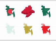 Free Bangladesh Map Vector Illustration Download Free