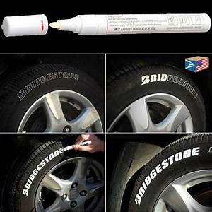 tire lettering white paint pen whitewall sidewall letter With tire letters ebay