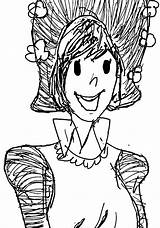 Amelia Coloring Bedelia Draw Wecoloringpage Pages sketch template