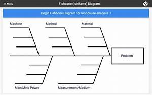 Fishbone  Ishikawa  Diagram - Collect  U0026 Track Data