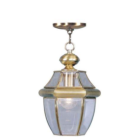 kitchen light fixture livex lighting providence 1 light antique brass outdoor 2152