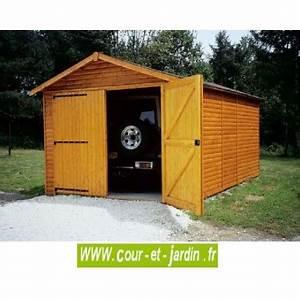 Garage Voiture En Bois : garage bois voiture en kit monter pas cher garages en bois ~ Dallasstarsshop.com Idées de Décoration