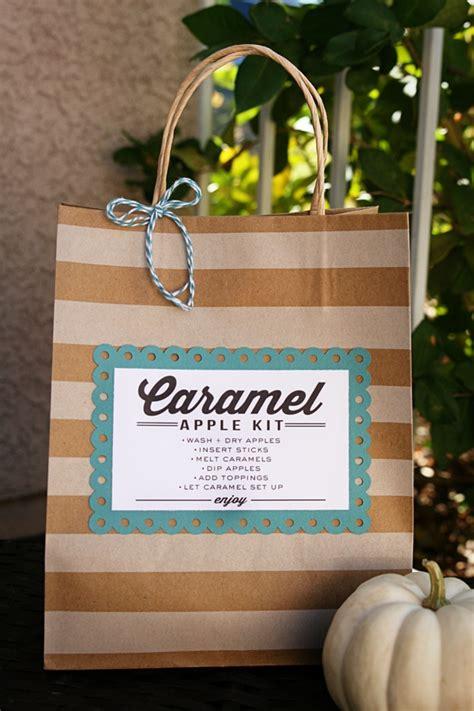 caramel apple kit gift idea