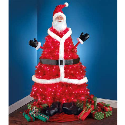 the santa claus tree hammacher schlemmer