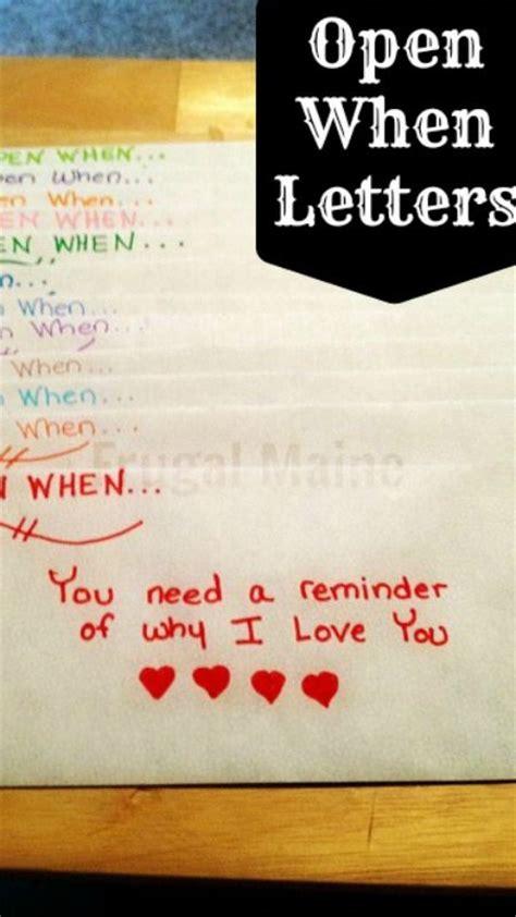 open  letters  beautiful idea
