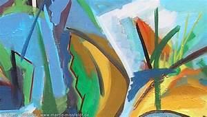 Abstrakte Farbige Fl U00e4chen  Aus  Abstrakte Malerei Mit
