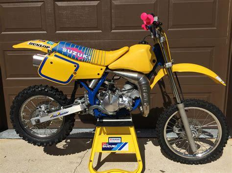 suzuki motocross bike 1990 suzuki rm80 vintage motocross bike
