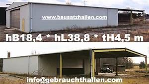 Gebrauchte Immobilie Qm Preis : gebrauchte stahlblechhalle lagerhalle hbs714sg ~ Buech-reservation.com Haus und Dekorationen