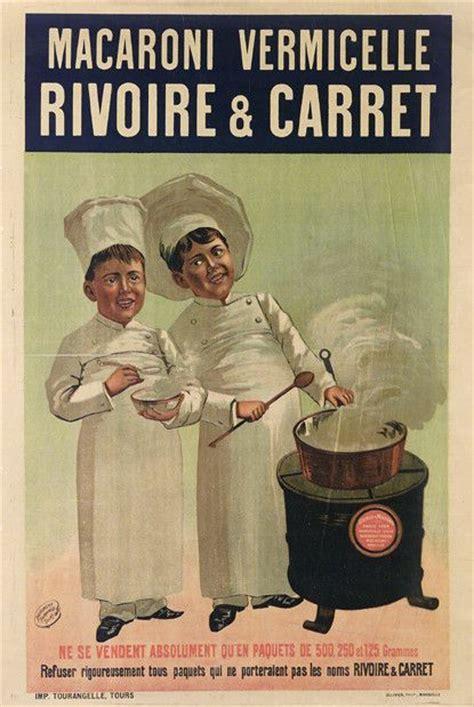 affiche cuisine retro affiches publicitaires alimentation a table