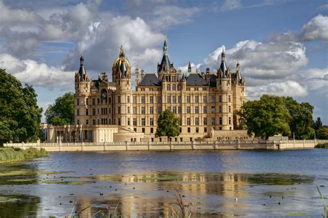 paneling for schwerin castle castle in germany thousand wonders
