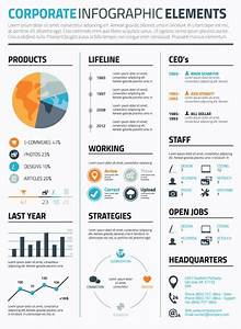 Infographic Vector Template Business CV Resume ...