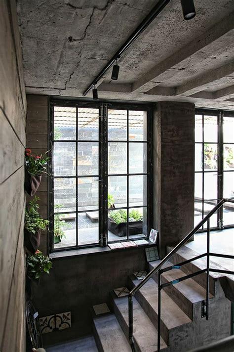 schickes loft und design studio  einem kombiniert