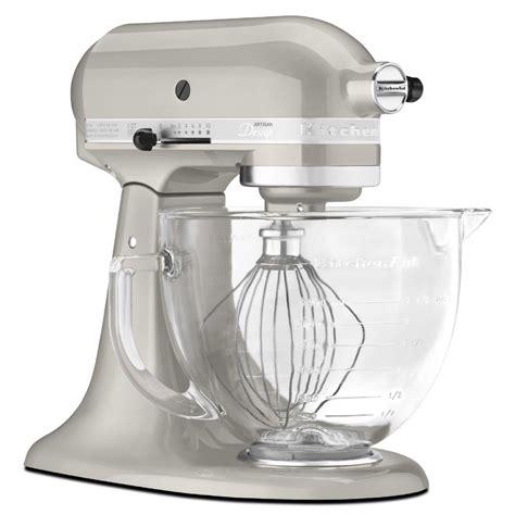 kitchenaid artisan design series 5 qt stand mixer kitchenaid ksm155gbsr artisan design series sugar pearl 5