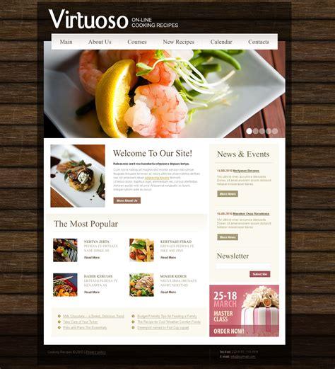 site de cuisine modèle web 31190 pour de cuisine