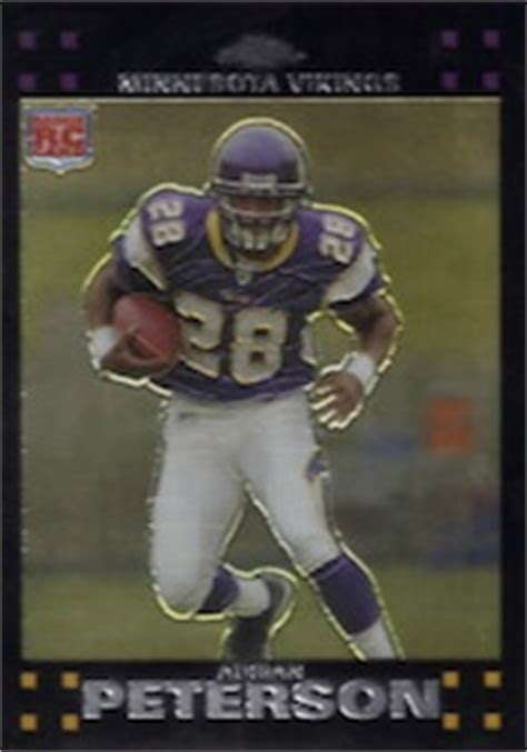 guide buying adrian peterson cards memorabilia