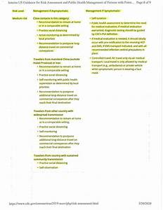 Interim Guidance For Risk Assessment And Public Health