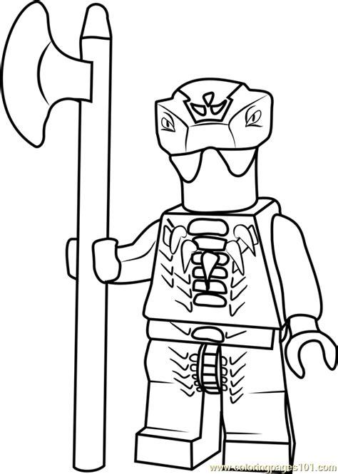 ninjago fang suei coloring page  lego ninjago