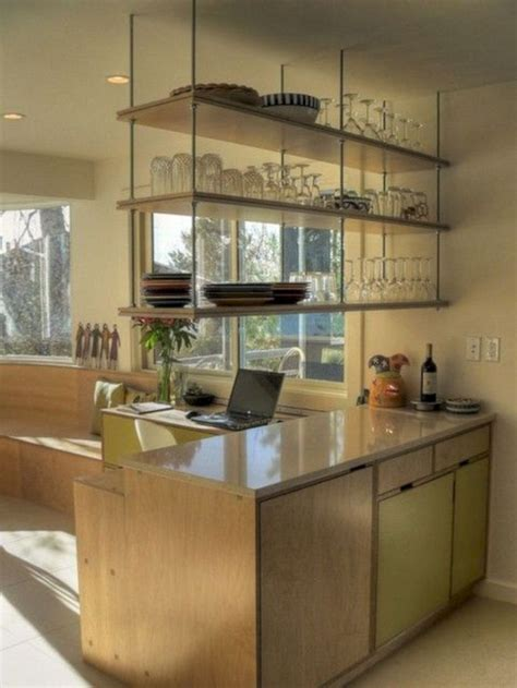 Hanging Kitchen Cabinets by 35 Marvelous Kitchen Cabinets Hanging From Ceiling For