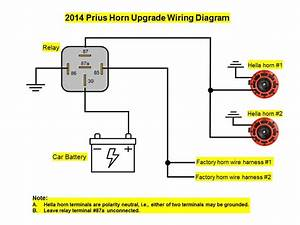 Prius Horn Upgrade Wiring Diagram