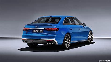 Audi Tdi 2020 by 2020 Audi S4 Tdi Color Turbo Blue Rear Three Quarter