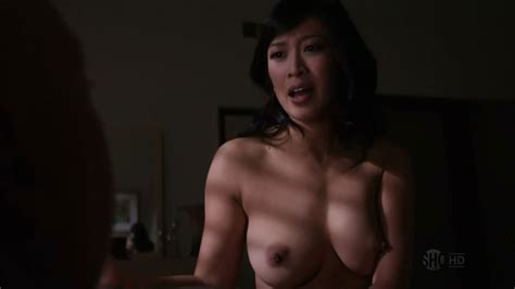 naked camille chen in californication