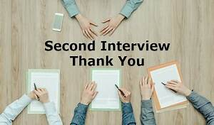Sample Job Thank You Letter Second Interview Thank You