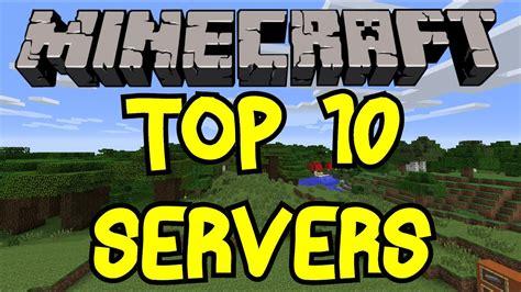 top servers minecraft   minecraft news hub