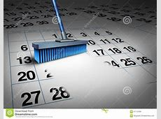 Clear Your Schedule Stock Illustration Image 67113789