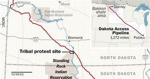 The Dakota Pipeline Protests  Explained