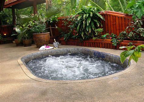 Outdoor Hot Tub Designs  Backyard Design Ideas
