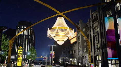 cleveland playhouse square chandelier department csu photo