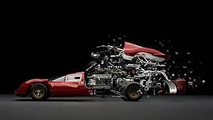Hd Wallpaper  Red Car  Ferrari  Photo Manipulation