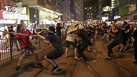 香港荃灣再現白衣人! 示威者被砍「傷見骨」│TVBS新聞網