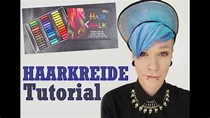 HAARKREIDE HAIR CHALK Tutorial YouTube