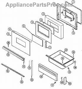 Parts For Magic Chef 6898vvv  Door    Drawer  Ser  Pre  12  Parts