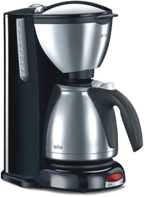 braun kf coffee maker impression series stainless steel