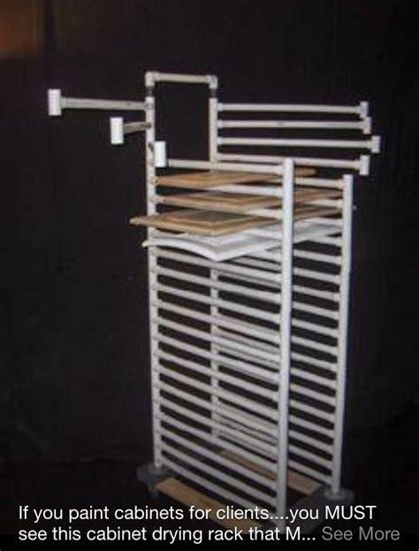 cabinet door painting rack cabinet door drying rack make a house a home pinterest