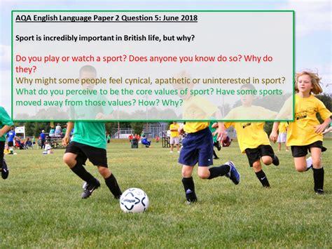 aqa english language paper  question  june  review aqa english language english