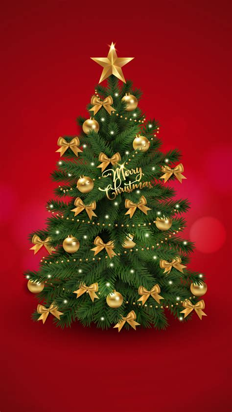 Tablet pc and cell phone black color best christmas gifts. Christmas tree | merry christmas mobile wallpaper - HD ...