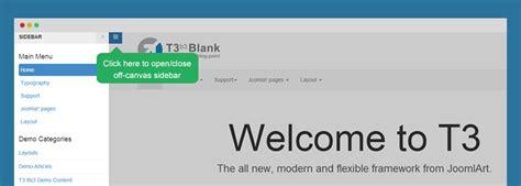 Joomla Template Framework