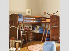 Sleeping solutions for three kids sharing a room